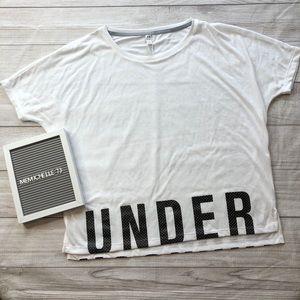 Under Armour Heat Gear Womens Medium White T-Shirt